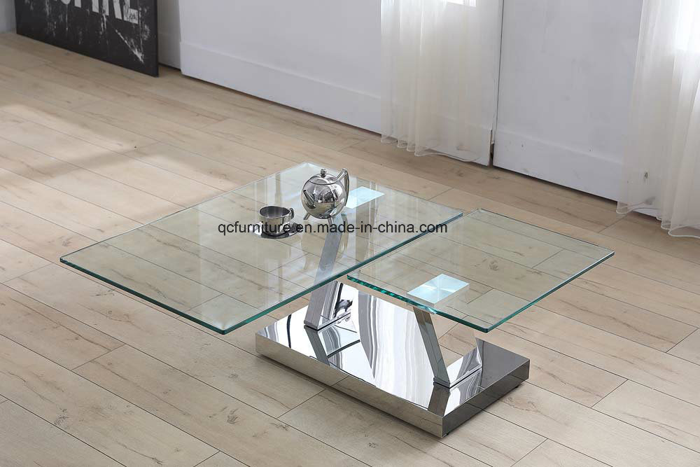 China Glass Coffee Table Set Center Table Design Living Room ...