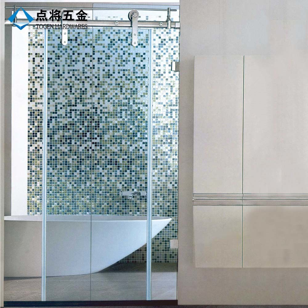 China Fujian Supplier Sliding Glass Shower Door Hardware With Modern