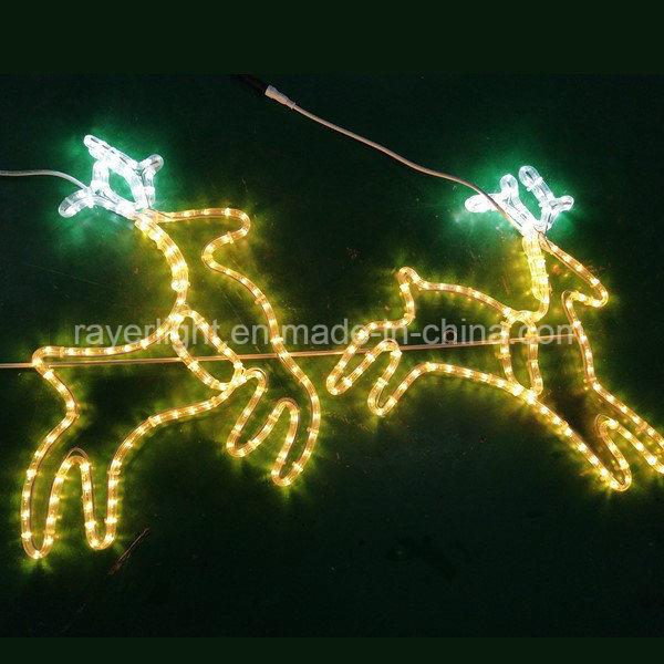 Christmas Led Lights.Hot Item Outdoor Decoration 2d Rope Lights Christmas Led Reindeer