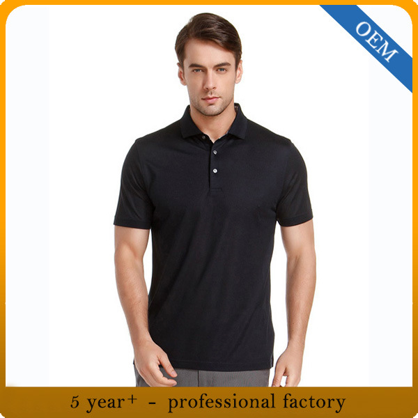 Custom High Quality Men′s Fashion Plain Cotton Polo T-Shirt pictures & photos