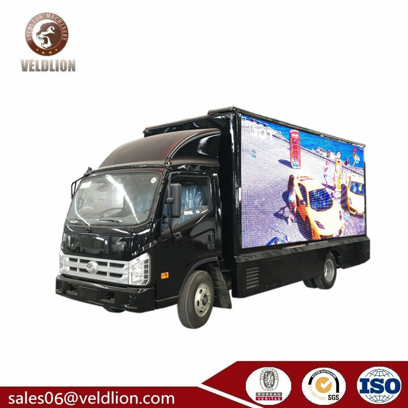 [Hot Item] Forland P8 Outdoor Digital Mobile LED Billboard Truck with Three  Full Color LED Screen Hot Sale in UAE