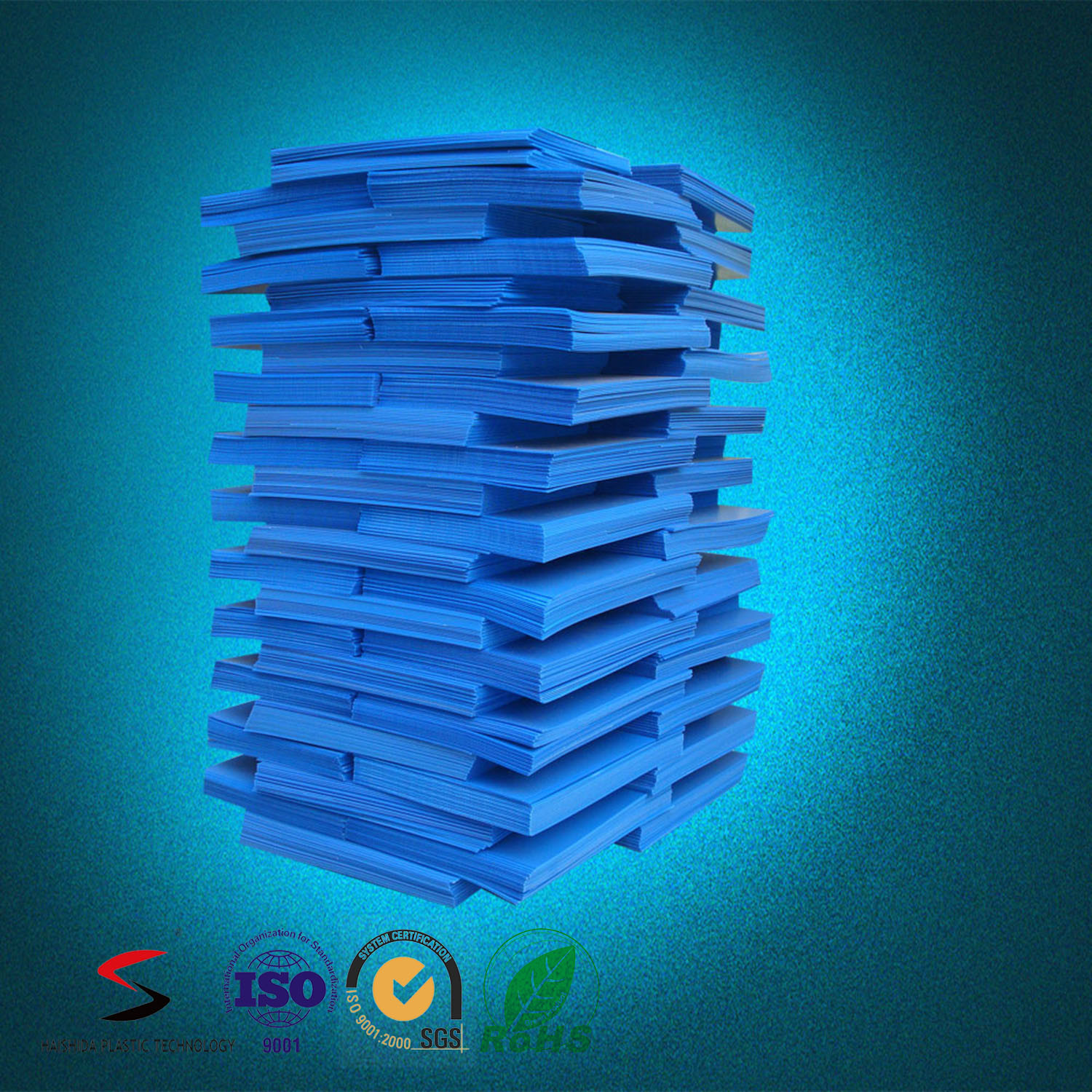 2-12mm Polypropylene Twin Wall Sheet Corrugated PP Board