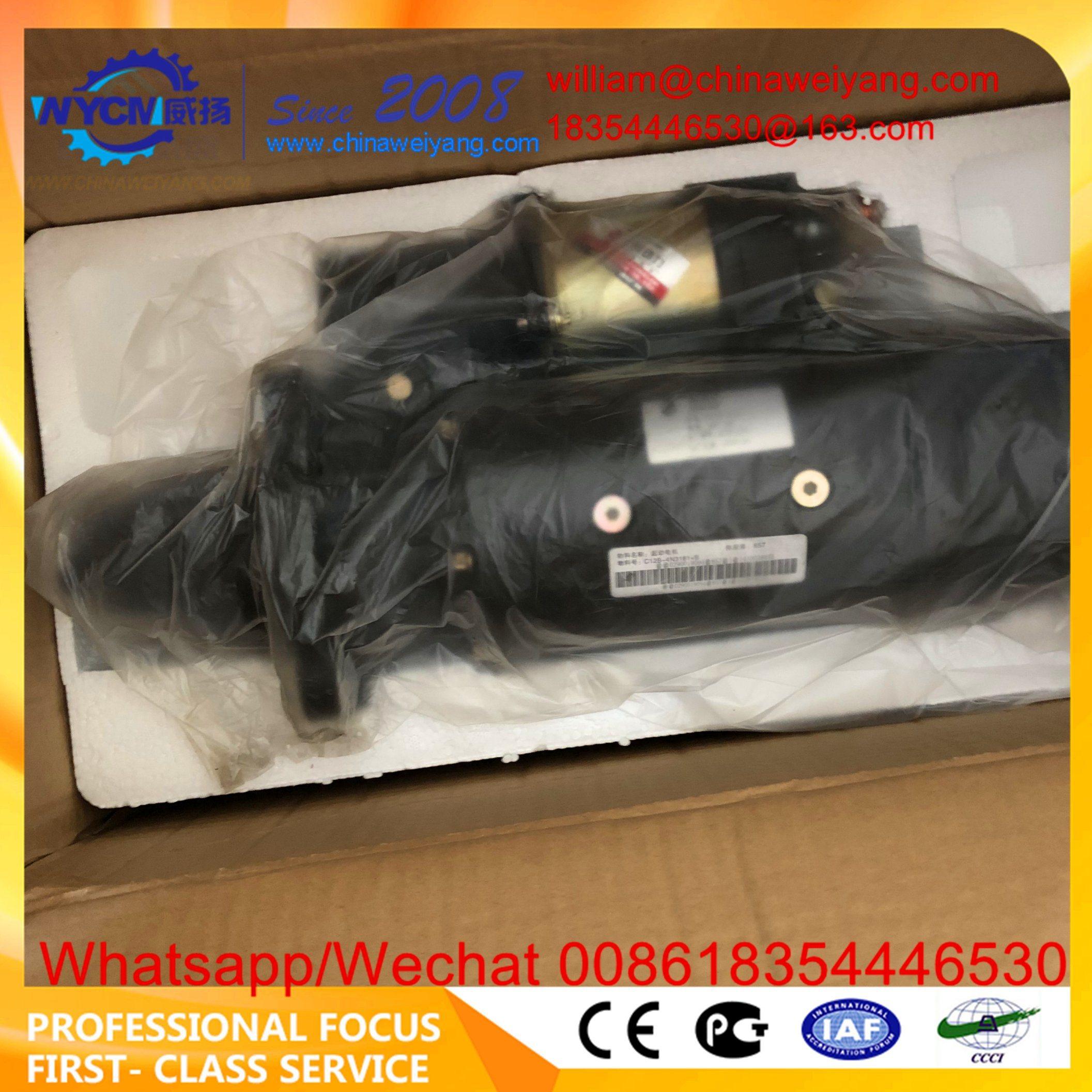[Hot Item] C6121 4n3181 Starter Shanghai Diesel Engine Spare Parts  C11ab-4n3181+B Motor Starter for Sale