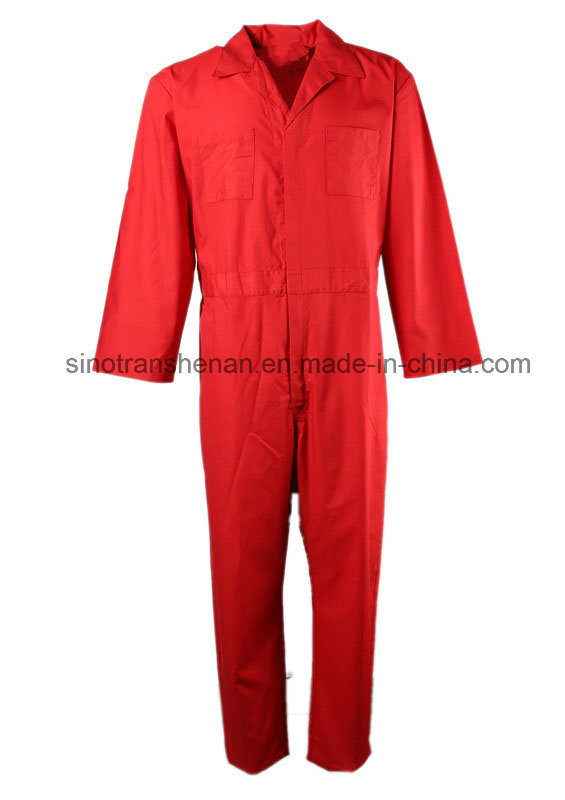 Comfortable Red Work Coverall Workwear
