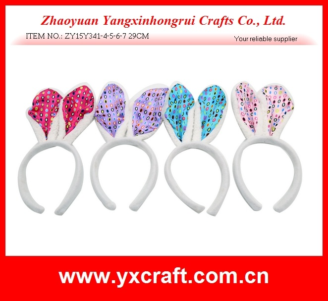 Easter Decoration (ZY15Y341-4-5-6-7) Easter Ear Hair Clip