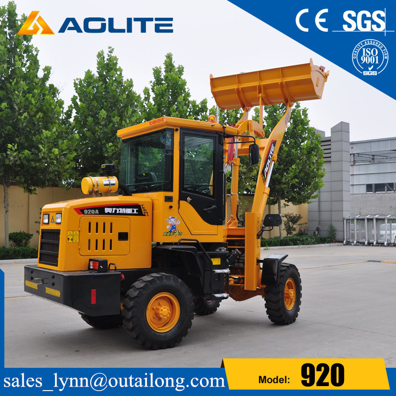 Articulated Small Front End Mini Wheel Loader with Low Prices pictures & photos