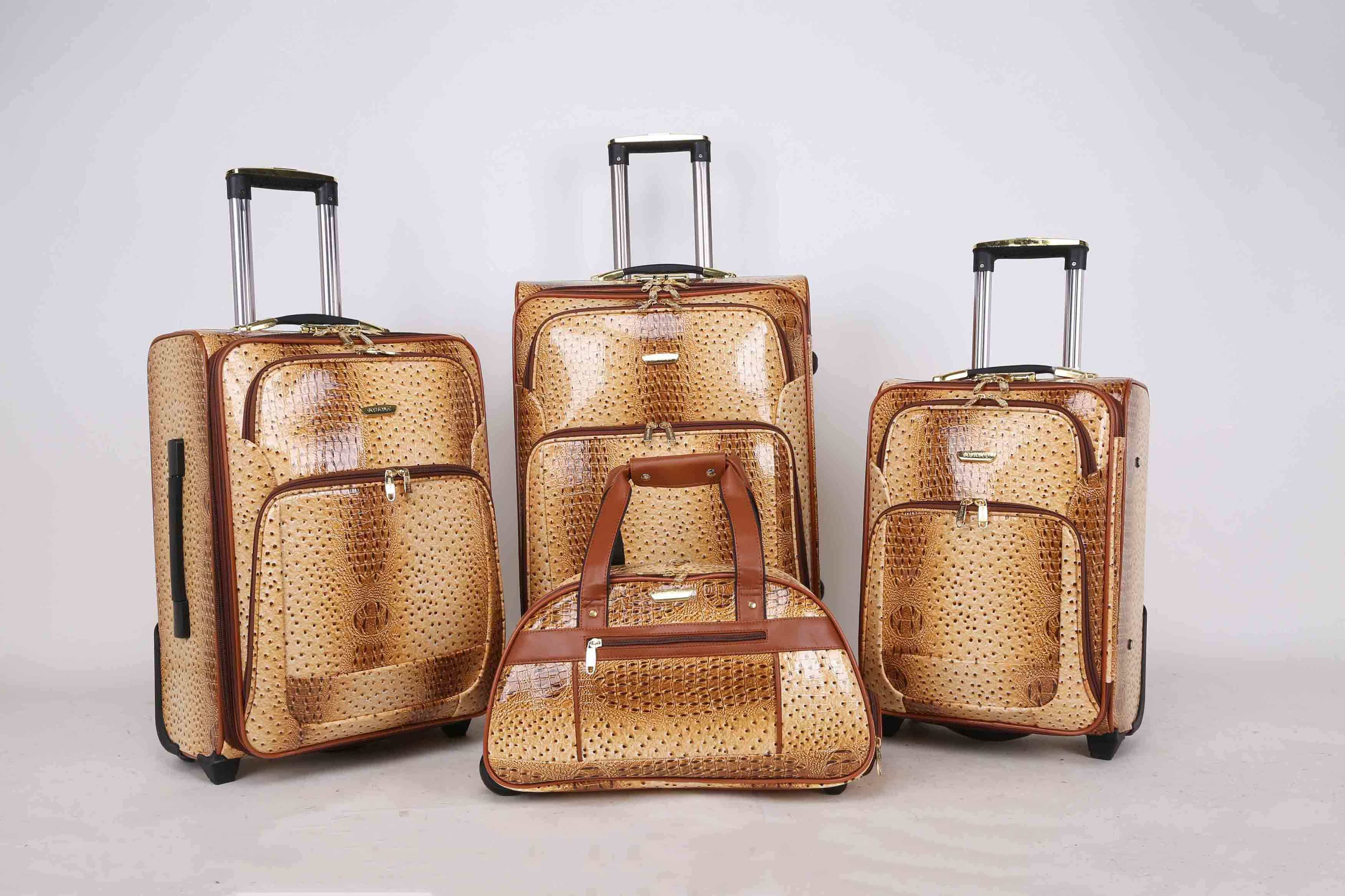 Africa Market Hotsale Luggage Trolley Case Jb010