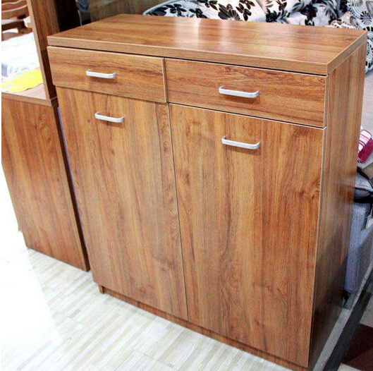Teak Wooden Shoe Cabinet pictures & photos