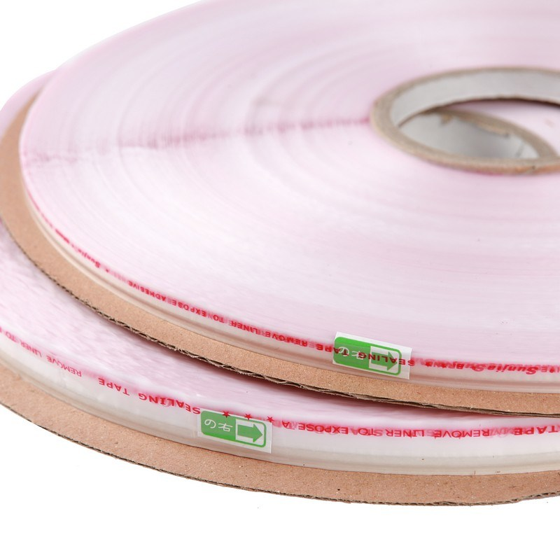 Finger Lift Double Sided Resealable Bag Sealing Tape