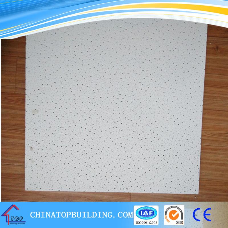 China Pin Holemineral Fiber Ceiling Tile Board False Ceiling