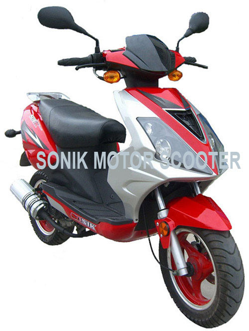 China EEC/E-MARK, 49cc/50cc/125cc Gas Scooter, 2-Stroke