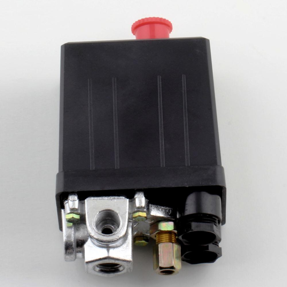 China High Quality Heavy Duty Air Compressor Pressure Switch Control For Diagram Valve 90 Psi 120