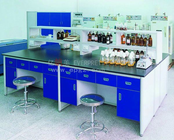2015 Hot Sale Lab Furniture Student Center Lab Bench