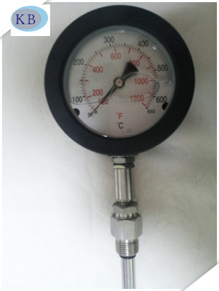 Diesel Seismic Thermometers Black Aluminium 50+650c