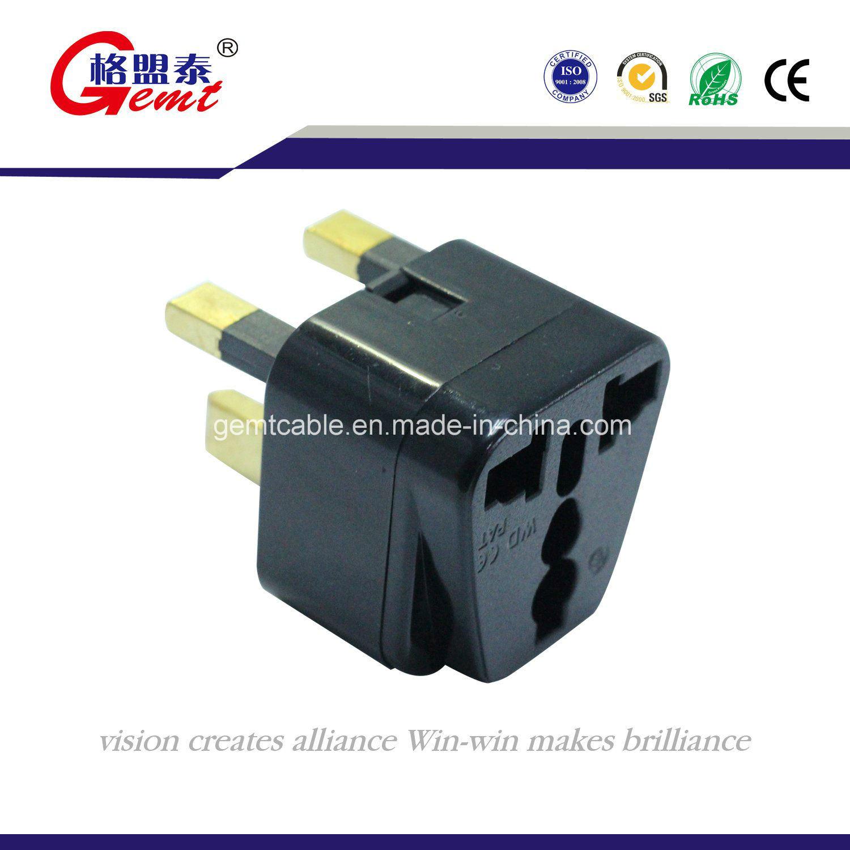 AC 250V 10A Universal UK US AU to EU Travel Power Adapter Wall Plug Converter