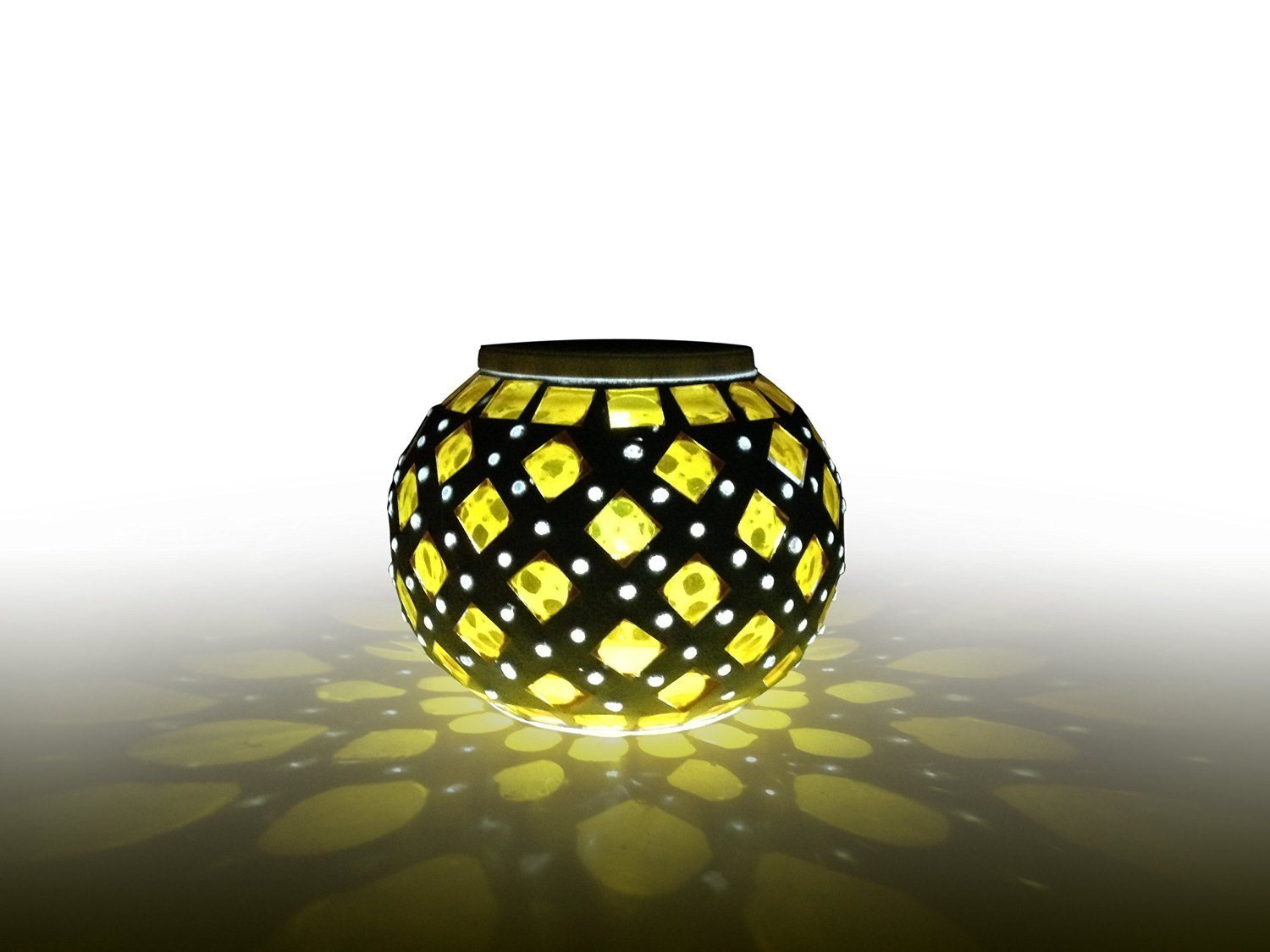 Solar Glass Jar Light for Christmas Gift