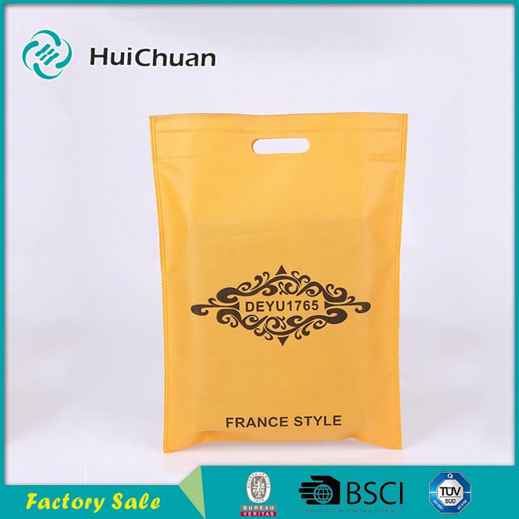 Pp Non Woven D Cut Bag Supermaket