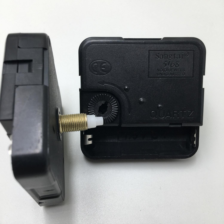 Quartz Moon Phase 1 5v Battery Black Clock Motor With Aa