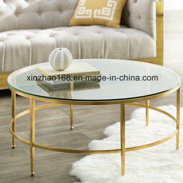 Incredible Hot Item 2017 New Model Round Table Furniture Glass Coffee Table Gmtry Best Dining Table And Chair Ideas Images Gmtryco