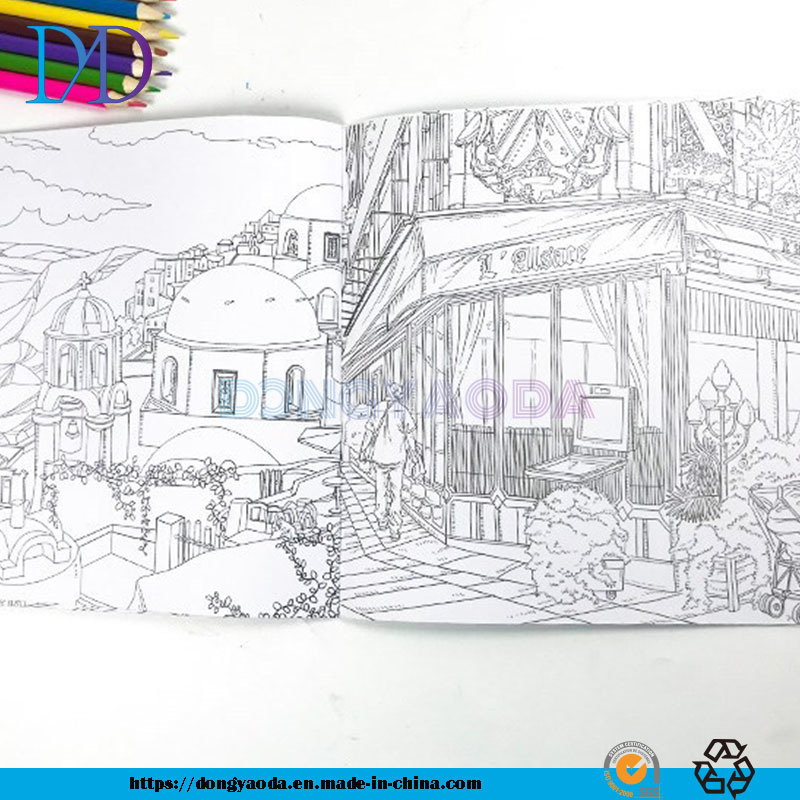 - China Custom Coloring Book Printing For Adults And Children Photos &  Pictures - Made-in-china.com