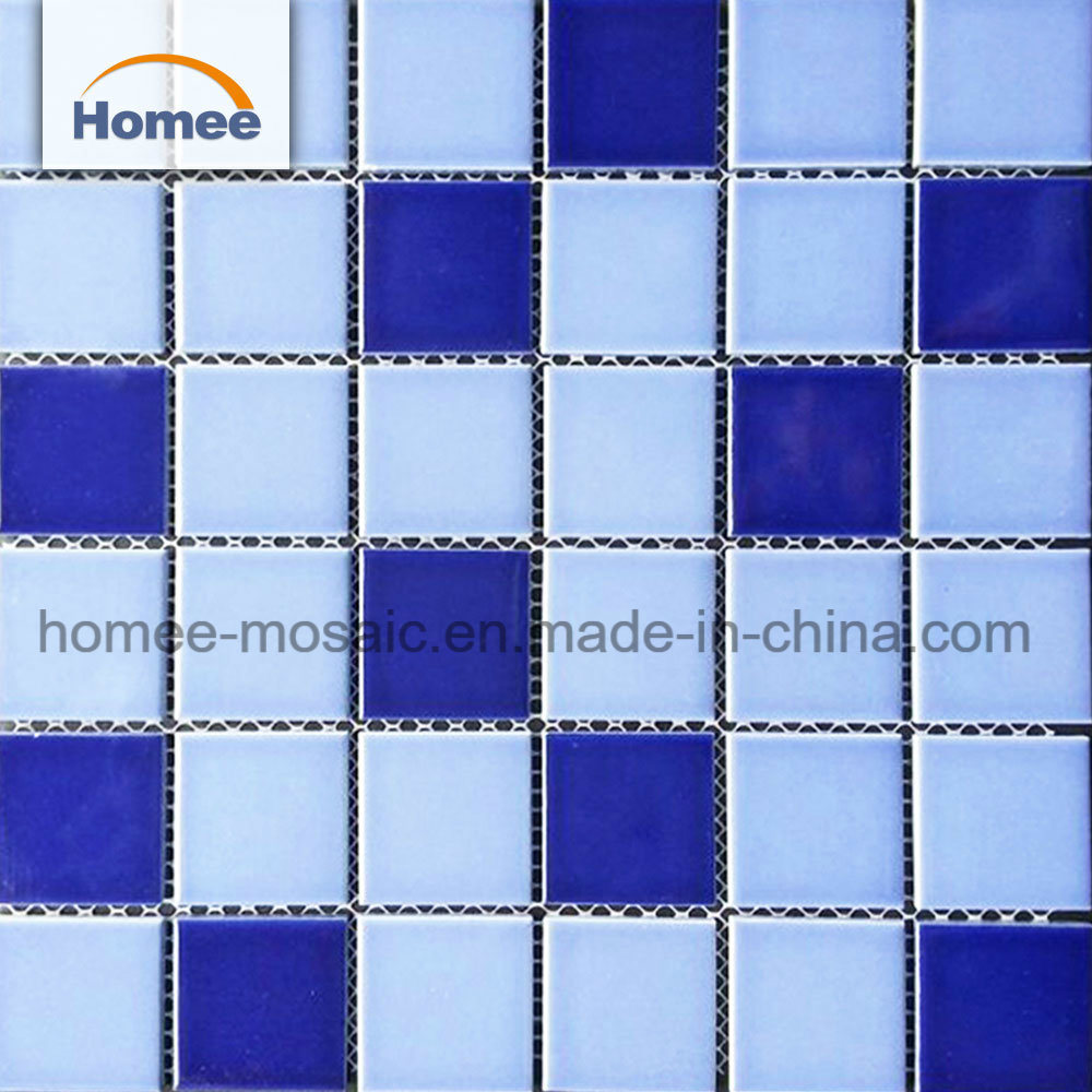 China Mosaic Ceramic Tile Hot Selling Price Blue Ceramic Mosaic ...