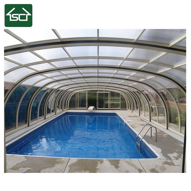 China Pool Glass Screen Cover for Pool Cover with High ...