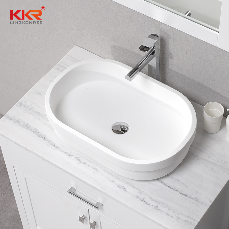 China Small Wall Hung Corner Wash Basin Solid Surface Bathroom Sink 0820 China Bathroom Sink Sink