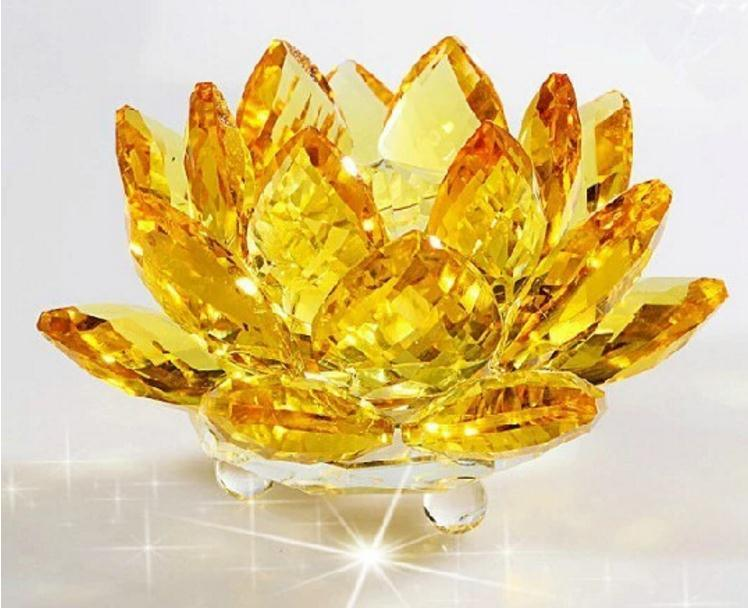 K9 Crystal Lotus Living Room Crystal Flower Decoration pictures & photos