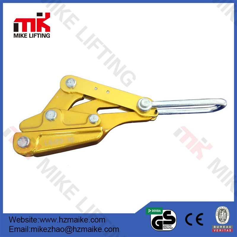 China Aluminium Alloy Cable Clamp Wire Rope Grip Block Puller ...