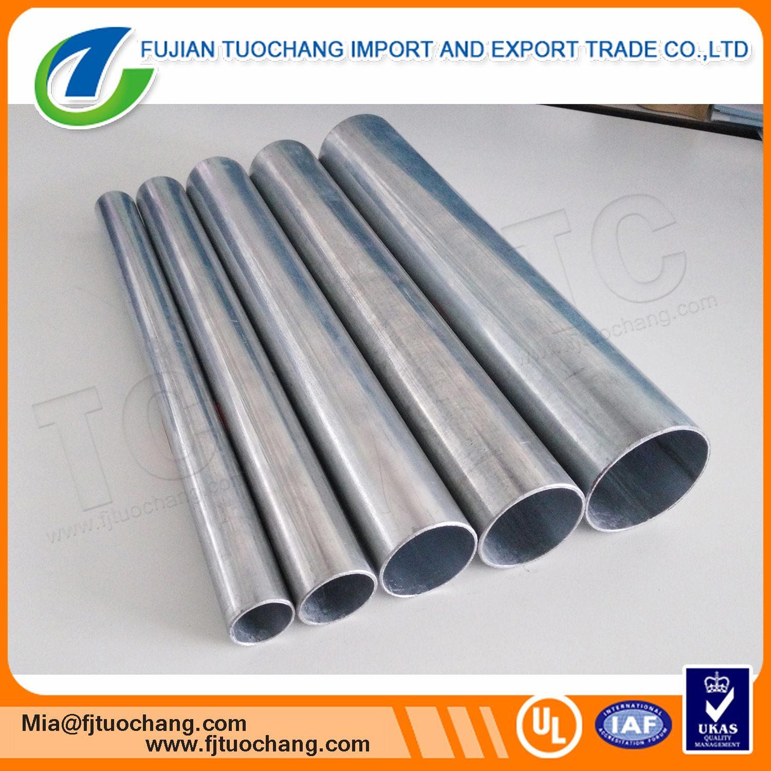 China Hot Dip Galvanized Electrical Cable Wiring Conduit Photos In