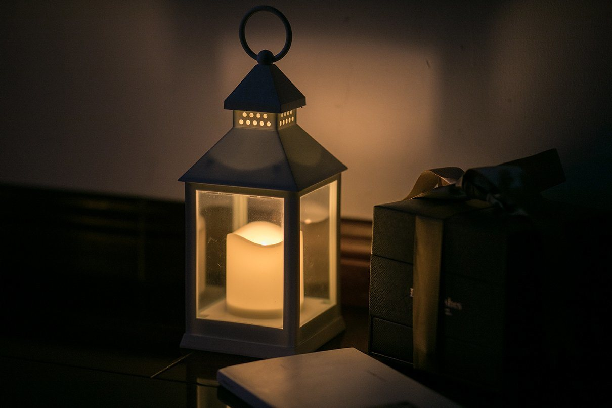 China Plastic Lantern With Led Candle Light For Home Decoration And Garden Ornaments China Candle Lantern And Led Candle Lantern Price