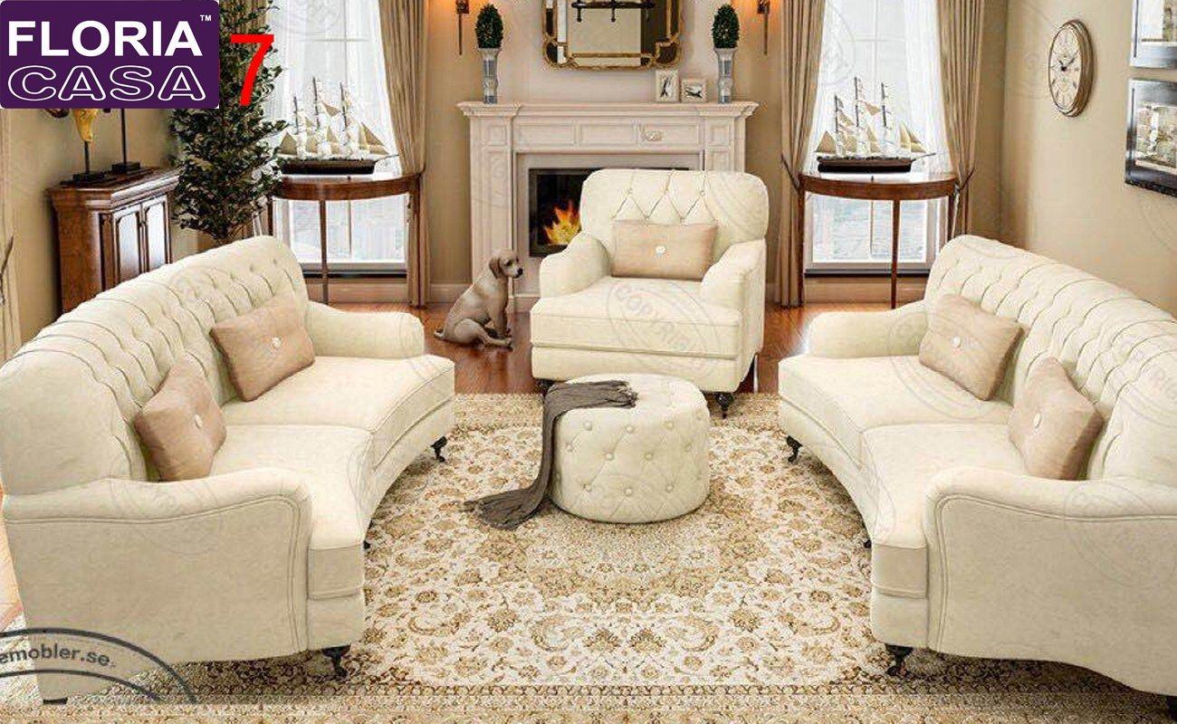 Hotel Reception Big Sofa Fabric