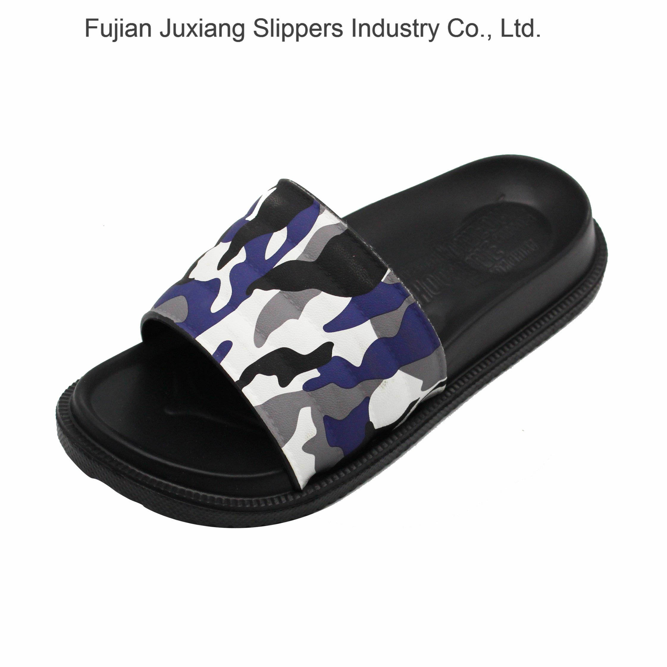 49a5a51f6e7ee [Hot Item] Latest Men Camouflage Slippers with EVA Outsole