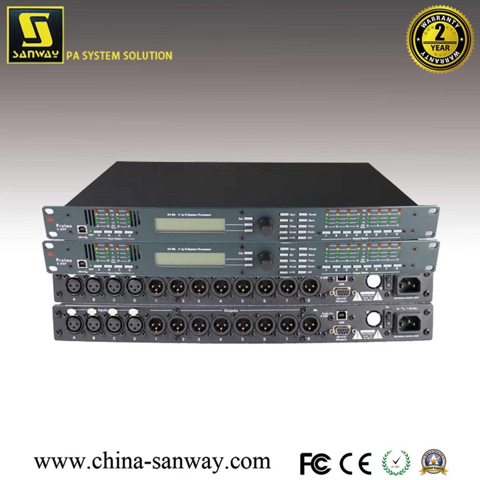 [Hot Item] Ashly Digital 4 in and 8 Output Speaker Processor, DSP Audio  Processor (Protea 4 8SP)