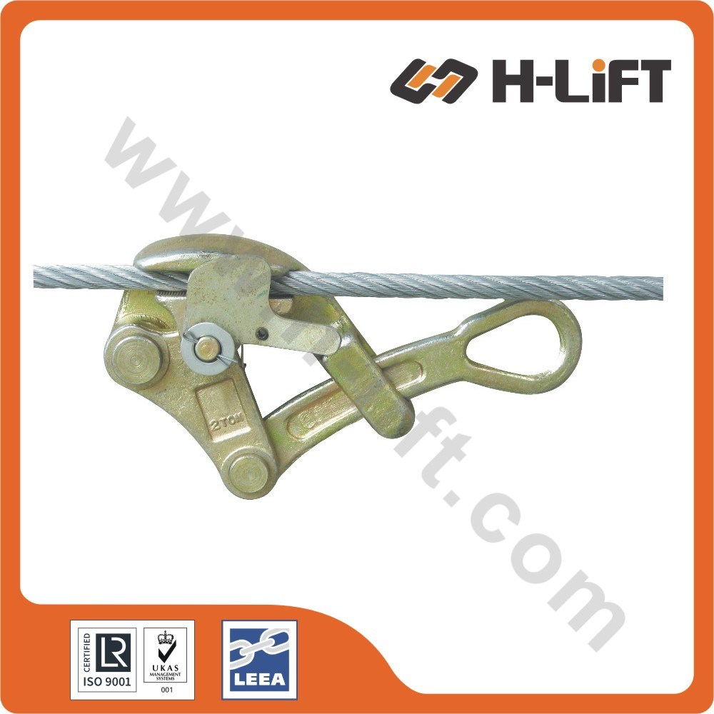 China Us Type Wire Rope Grip / Hand Puller Cable Grip - China Wire ...
