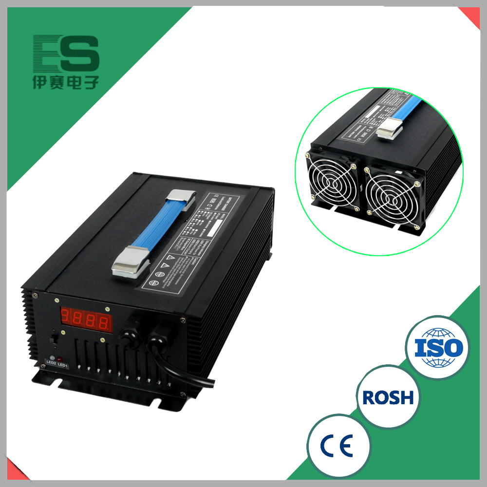 China 72v 80ah Electric Car Battery Charger With Two Led Indicators