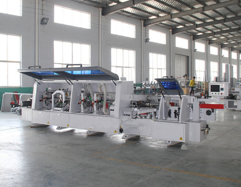 Wood Work Side Sealing Machine / Double-Face Gluing Curved&Straight Edge Banding Machine pictures & photos