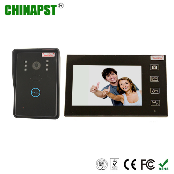 2.4GHz 7′′ TFT LCD Screen Wireless Video Door Phone with Touch Key (PST-WVD07T)