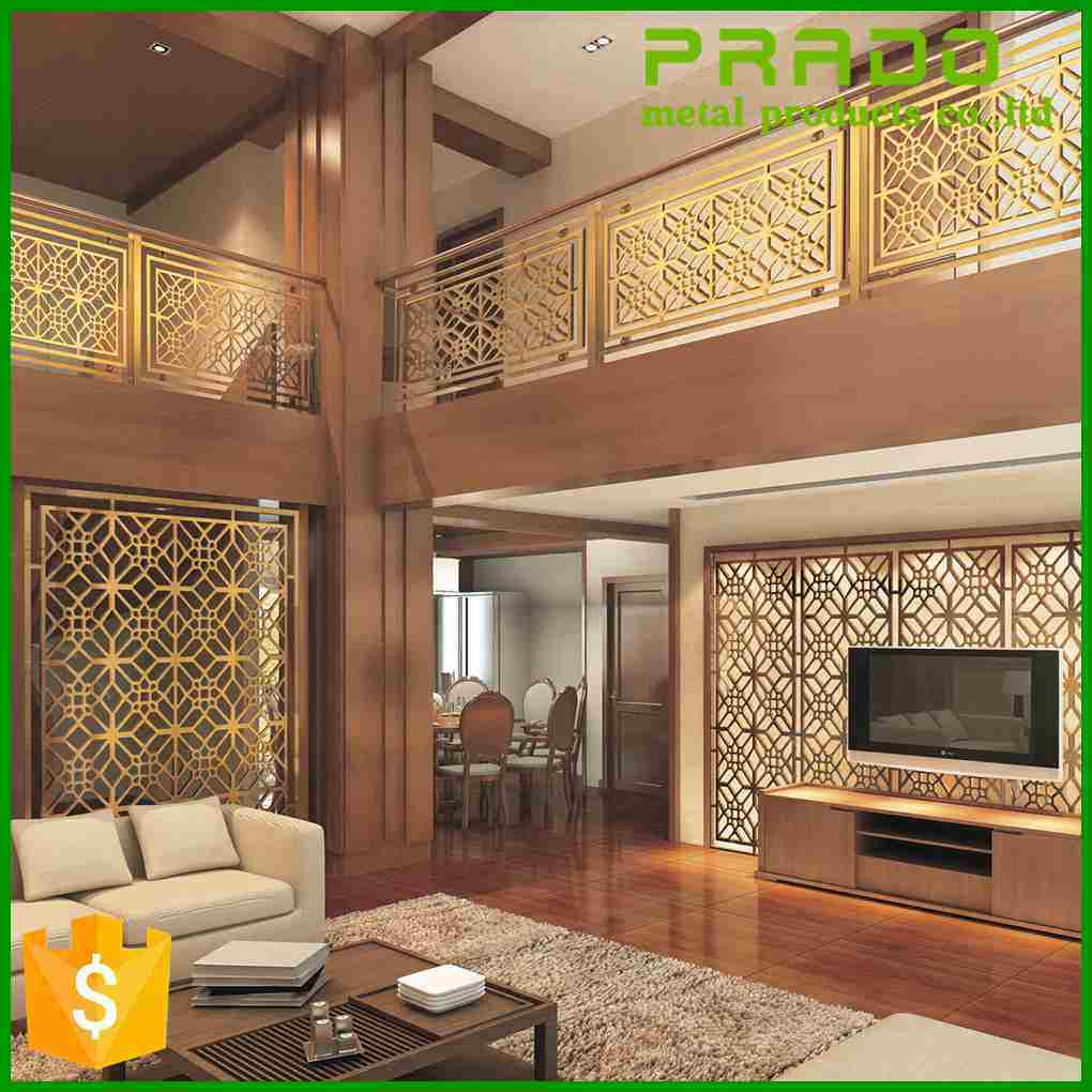 China Stainless Steel Decorative Screen Living Room Divider