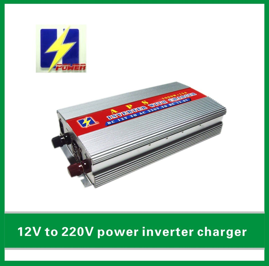 China 1kw Home Ups 12v To 220v Power Inverter With Charger Circuit Built In Electronic