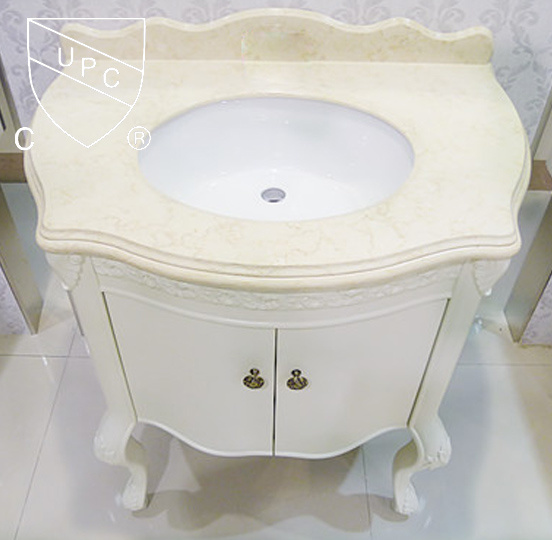 China North American Upc Approved Under Counter Oval Bathroom Basins Sn022 China Cupc Sink Porcelain Sink