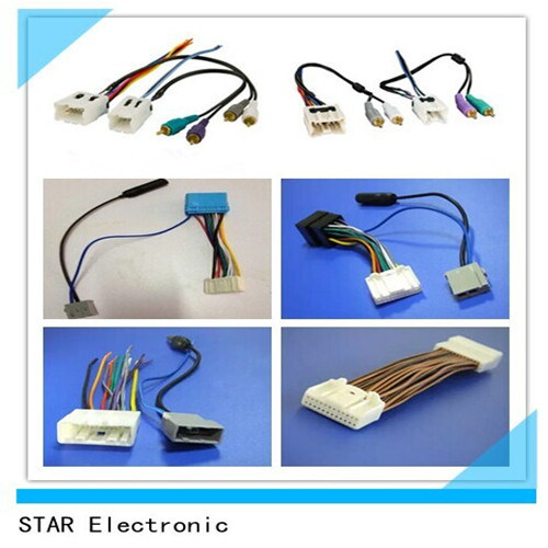 factory customized nissan 20 pin iso wire harness for audio