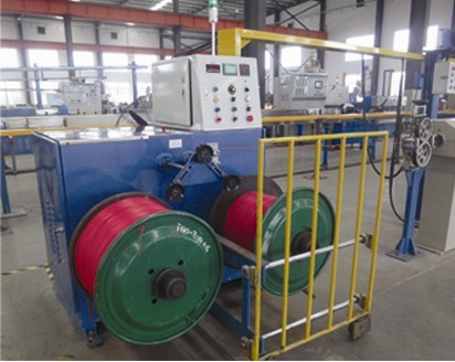 Extrusion PLC Double Axis Coiling Machine