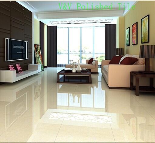 Polished Marble Flooring Tile