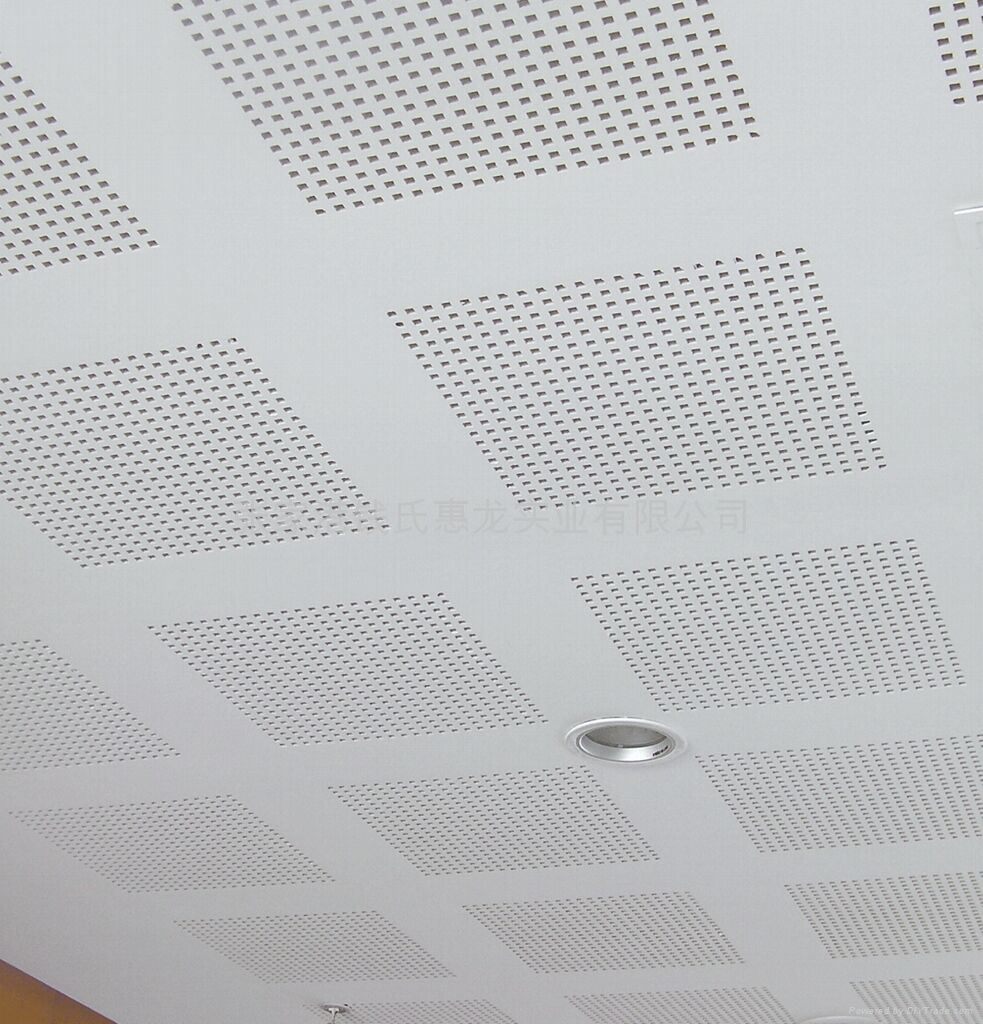 China soundproofacoustic perforated gypsum ceiling tile 6051210 china soundproofacoustic perforated gypsum ceiling tile 60512109mmacoustic roof insulation board china pvc laminated gypsum ceiling tile dailygadgetfo Images