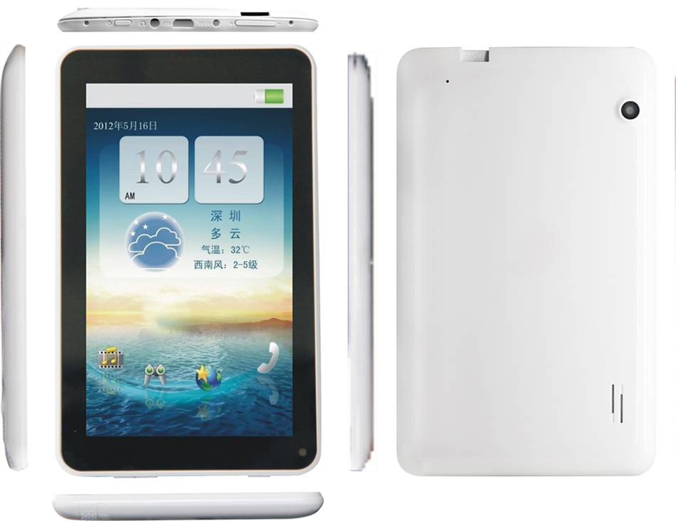 [Hot Item] 7′′ Rockchip 3026 Dual Core Android 4 2 Resolution 1024*600  Tablet PC