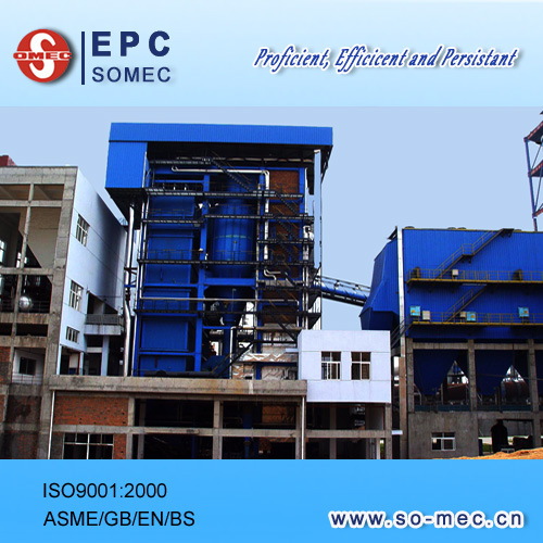Power Plant Circulating Fluid Bed - CFB Boiler