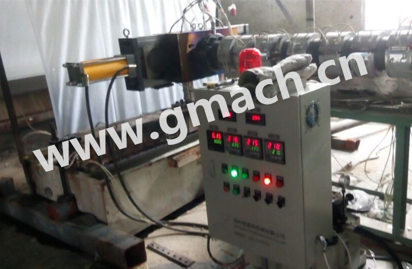 Single Plate with Four Working Position Continuous Screen Changer for Plastic Extrusion Line pictures & photos