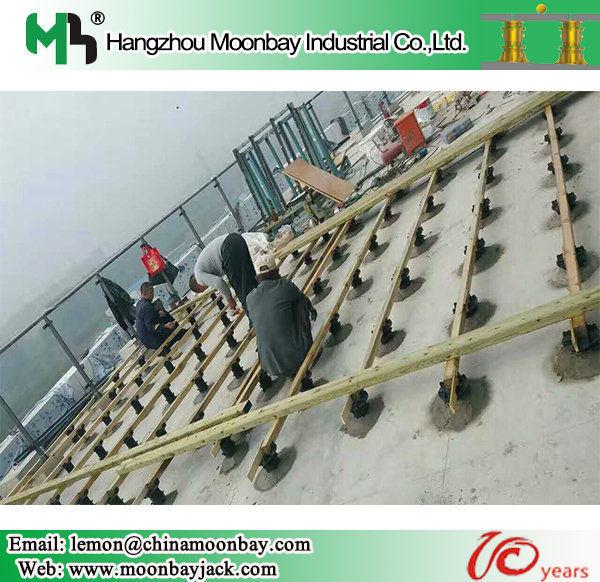 China Adjustable Plastic Raised Floor Bracket China Adjustable Props Adjustable Plastic Props