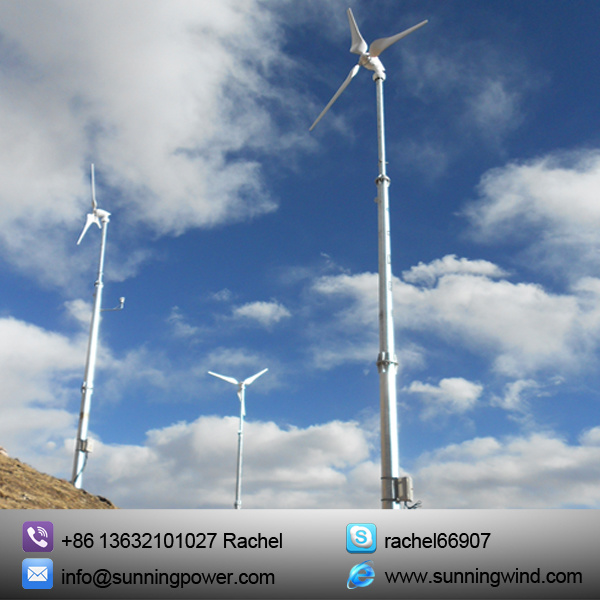 China with Sunning 5000W Wind Turbine Generator Is a Real Power ...